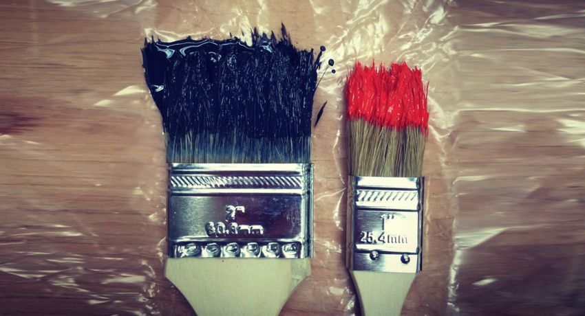 Paint brushes illustrating just one of the maintenance tasks that need to be conducted periodically.