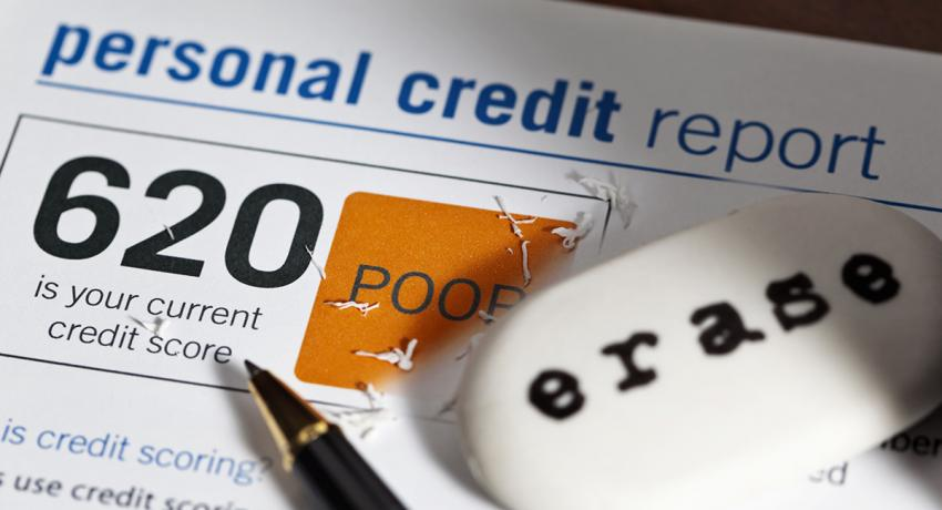 If your credit score is holding you back, get started on a credit repair plan now.